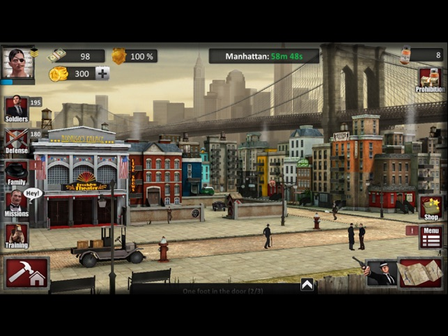 Bloody Hands, Mafia Families, game for IOS