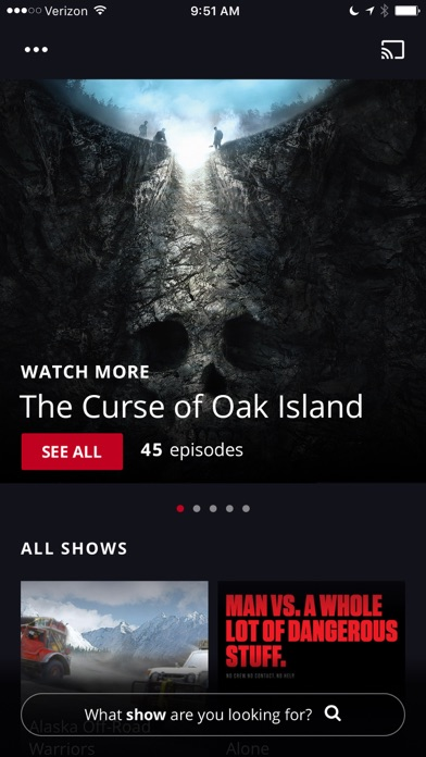HISTORY: TV Shows on Demand app image
