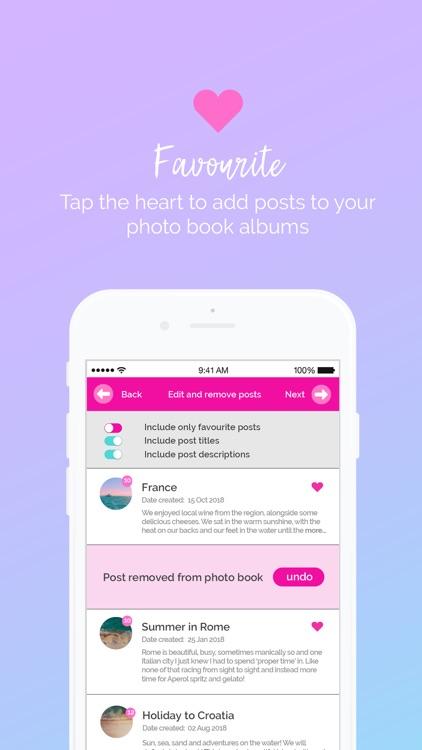 iCapture.app Social Photo Book screenshot-3