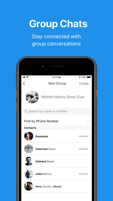 Screenshot for Signal - Private Messenger in United States App Store