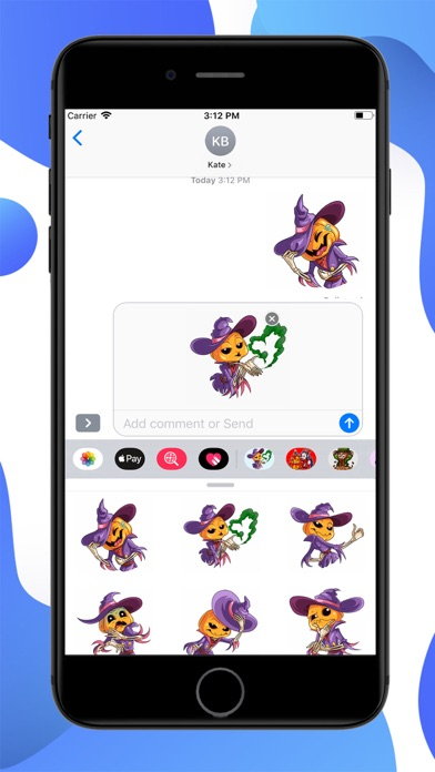 Screenshot for Jack Pumpkinhead Stickers in United States App Store