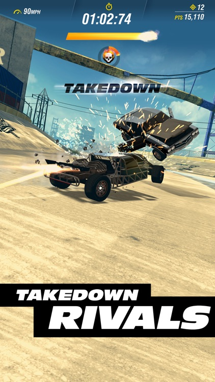 Fast & Furious Takedown screenshot-4