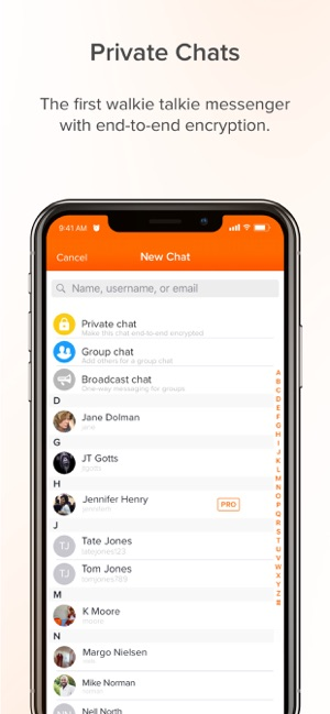 Voxer Walkie Talkie Messenger on the App Store