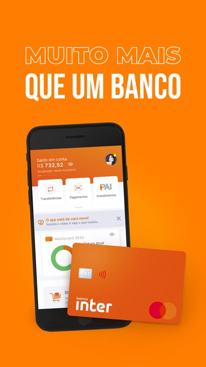 Banco Inter: simples e online! screenshot-0