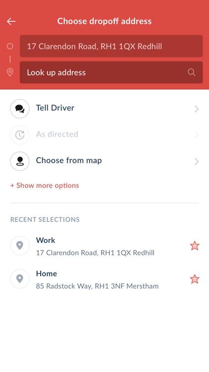 Priory Cars Taxi screenshot-3