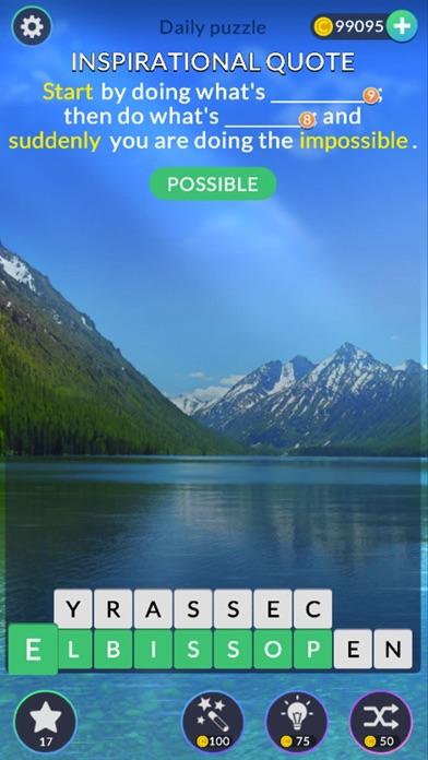 Word Tiles: Relax n Refresh screenshot 4
