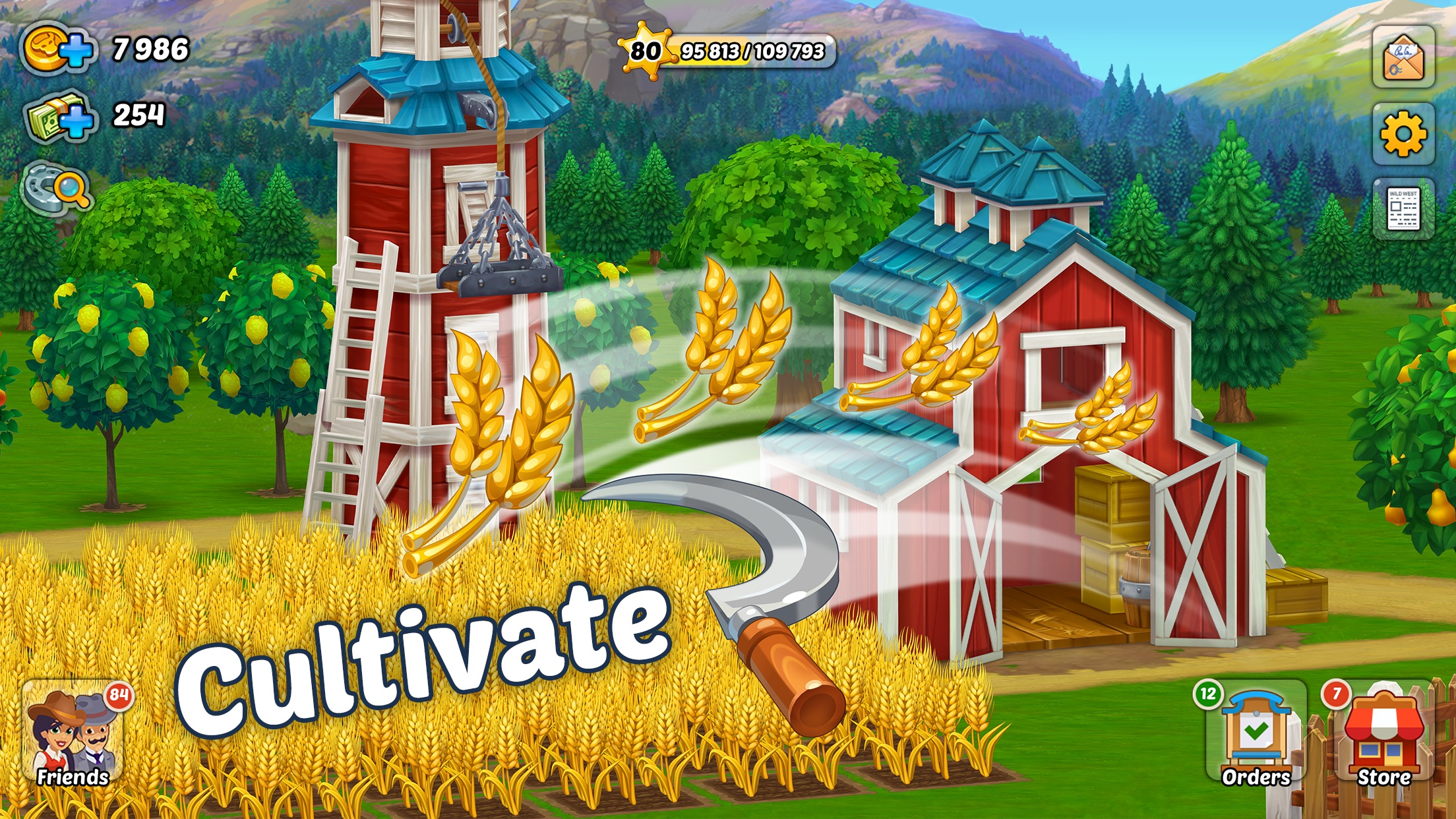 Wild West: New Frontier farm Screenshot