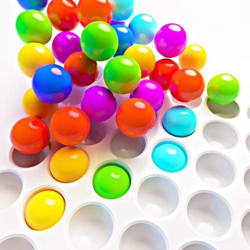 Color 3D Balls free software for iPhone and iPad