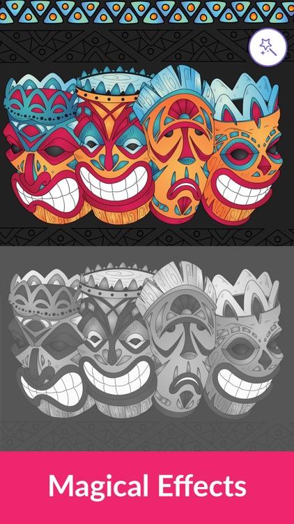 Colorgram: Adult coloring book screenshot-4