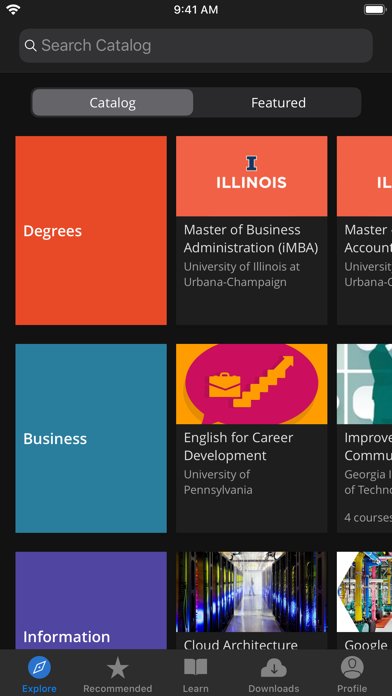 Coursera: Learn new skills Screenshot