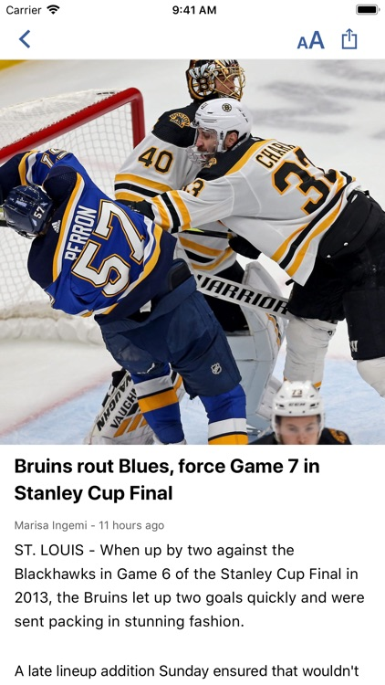 Boston Headline Sports screenshot-2