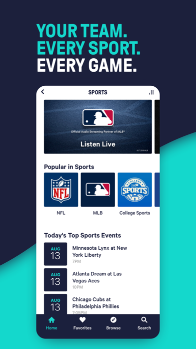 TuneIn - NFL Radio & Podcasts