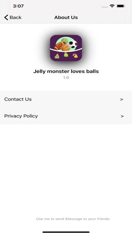 Jelly monster loves balls screenshot-3