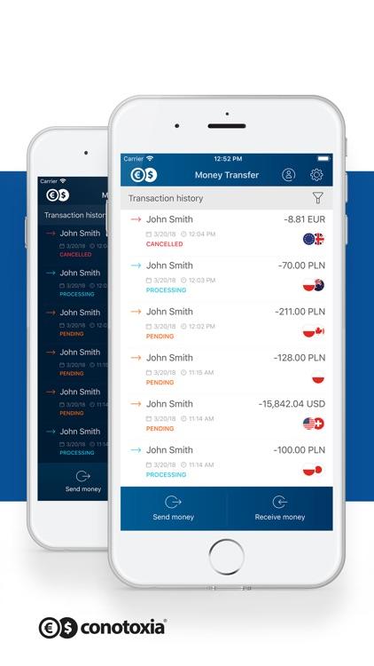 Money Transfer Conotoxia screenshot-3