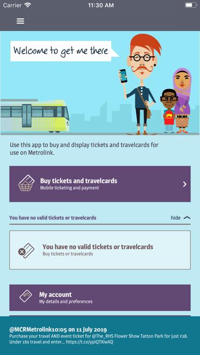 get me there – TfGM Metrolink