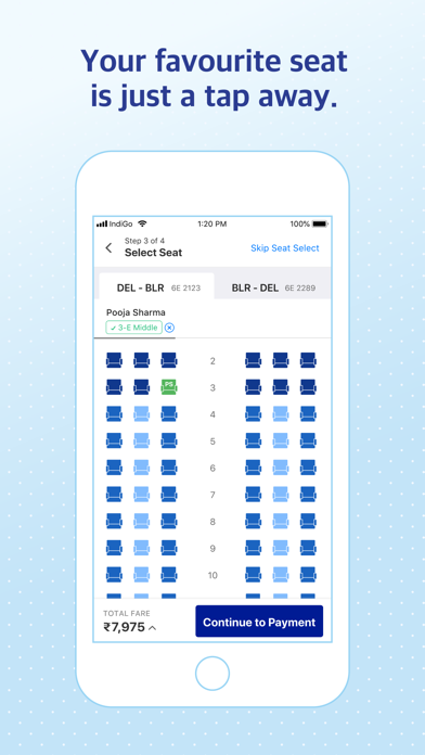 IndiGo | Flight Booking App screenshot four