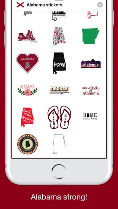 Alabama emojis - USA stickers screenshot 3