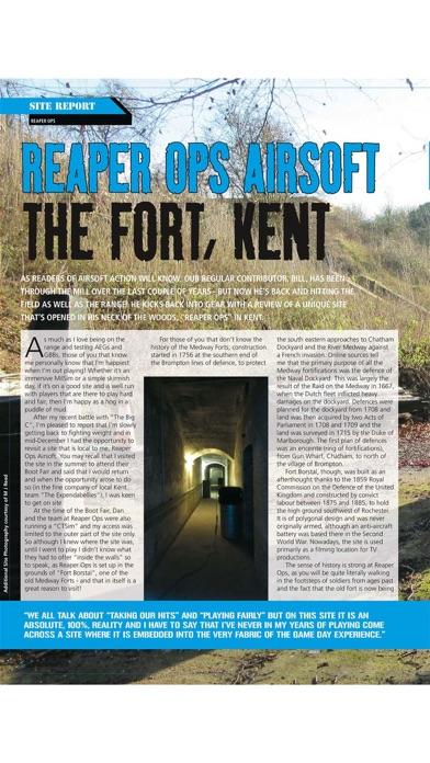 Airsoft Action Magazine Screenshot