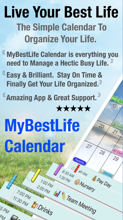 MyBestLife Calendar screenshot-0