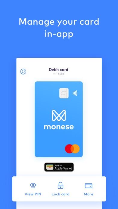 Monese - Current Account screenshot