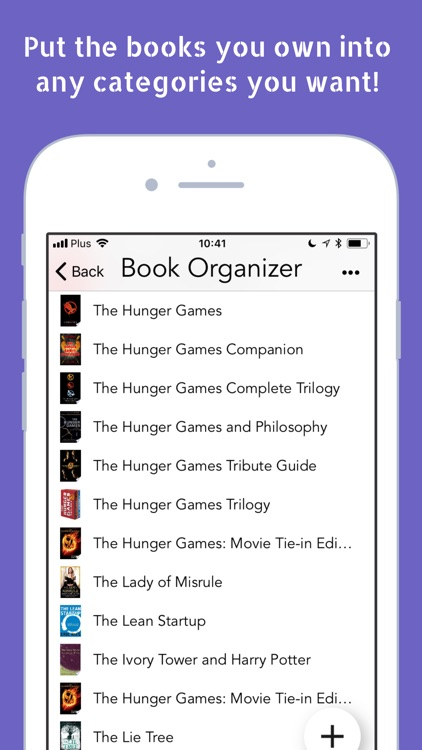 Book Organizer for Readers