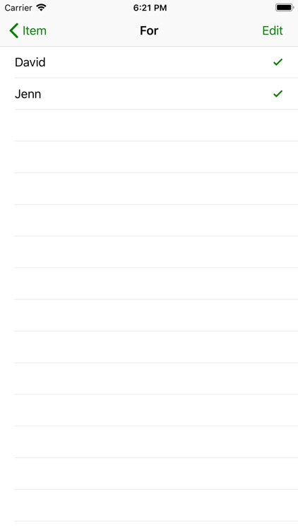 Pack - Simple Packing List screenshot-5