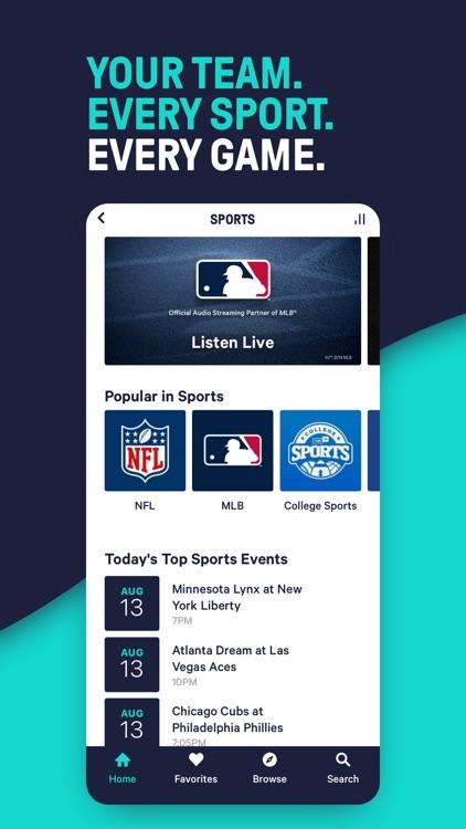 TuneIn - NBA Radio & Live News screenshot-5