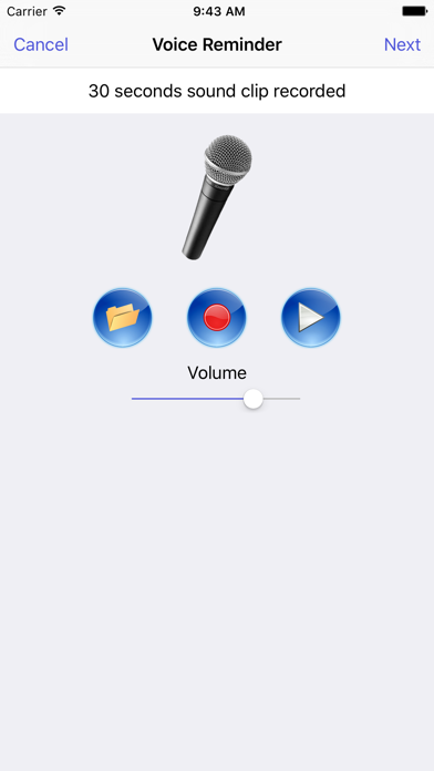 Reminders With Voice Reminder review screenshots