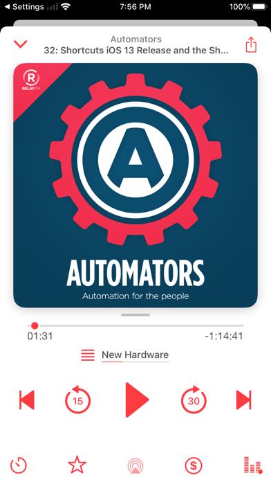 Castamatic Podcast Player screenshot three