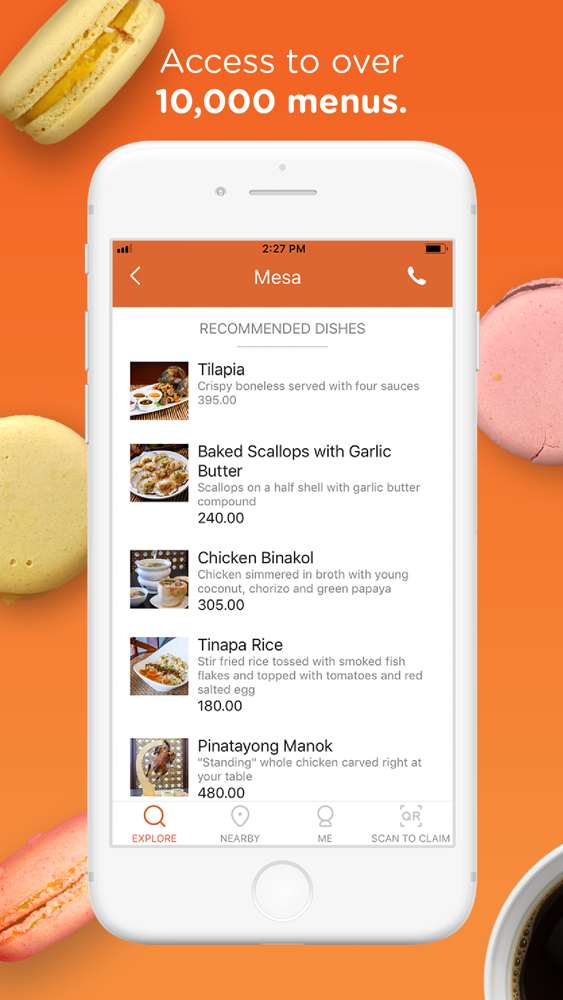 Booky - Food and Lifestyle App for iPhone - Free Download