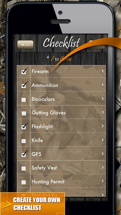 Checklist Guide! Deer Hunting