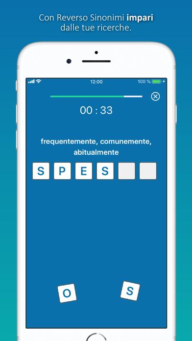 Screenshot of Dizionario Sinonimi Reverso6