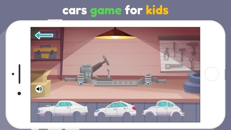 Car Maker for kids & toddlers screenshot-0
