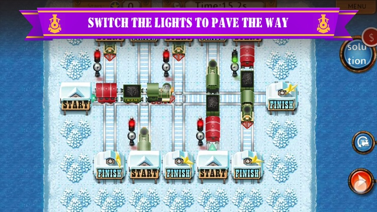 Rail Maze 2 : Train Puzzler screenshot-3