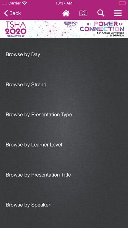 TSHA Annual Conventions screenshot-3
