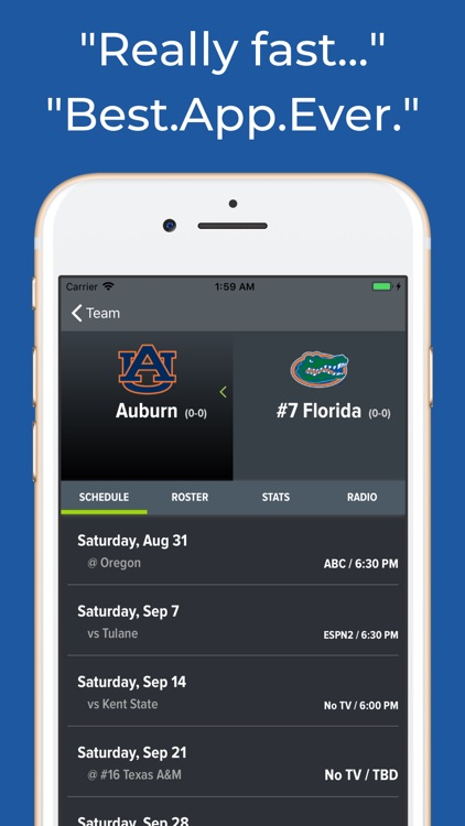 Florida Football Schedules screenshot-8