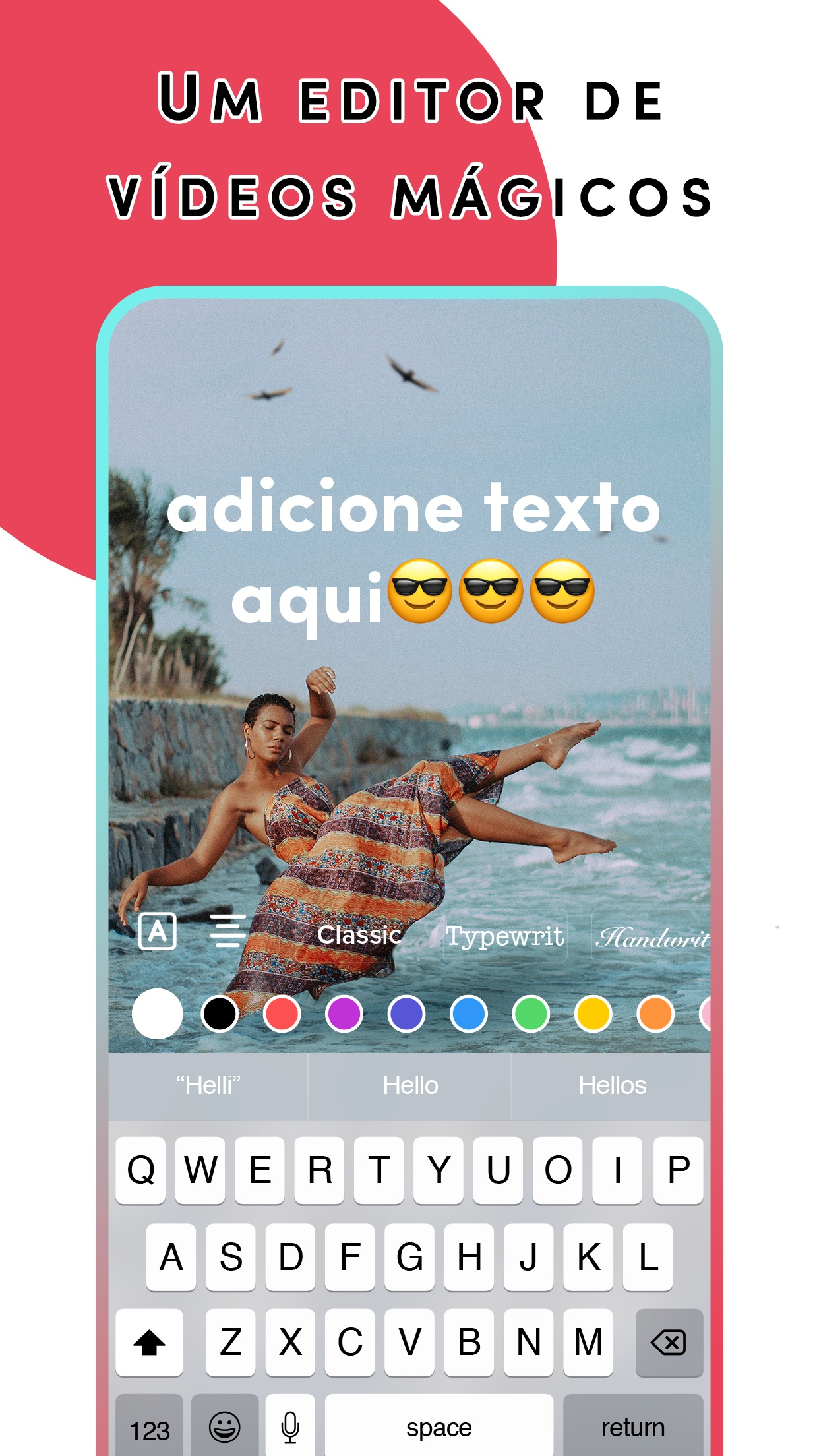 Screenshot do app TikTok