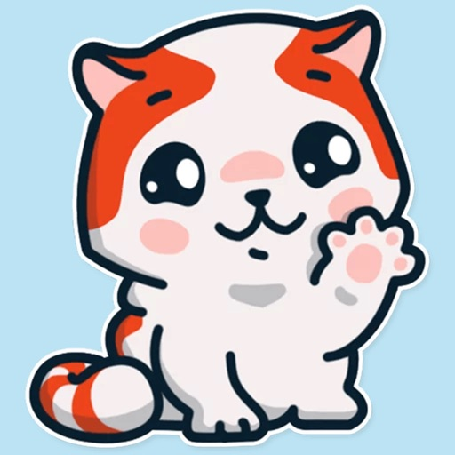 Little cat emojis - cute kitty