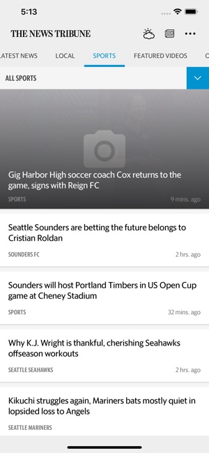 The News Tribune News on the App Store