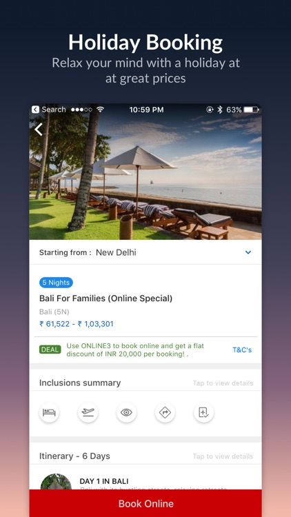 MakeMyTrip - Flights, Hotels screenshot-4