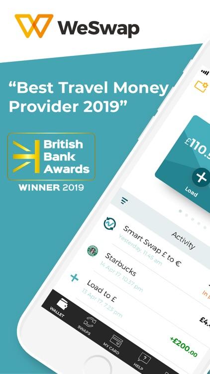 WeSwap - Travel Money screenshot-0