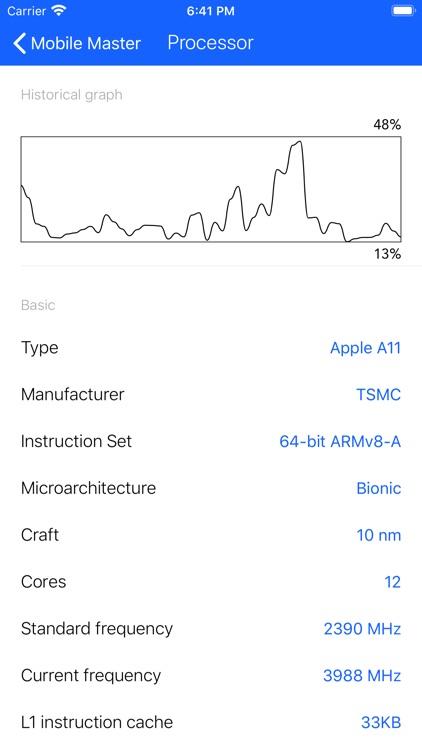 Mobile Master Battery CPU Tool screenshot-4