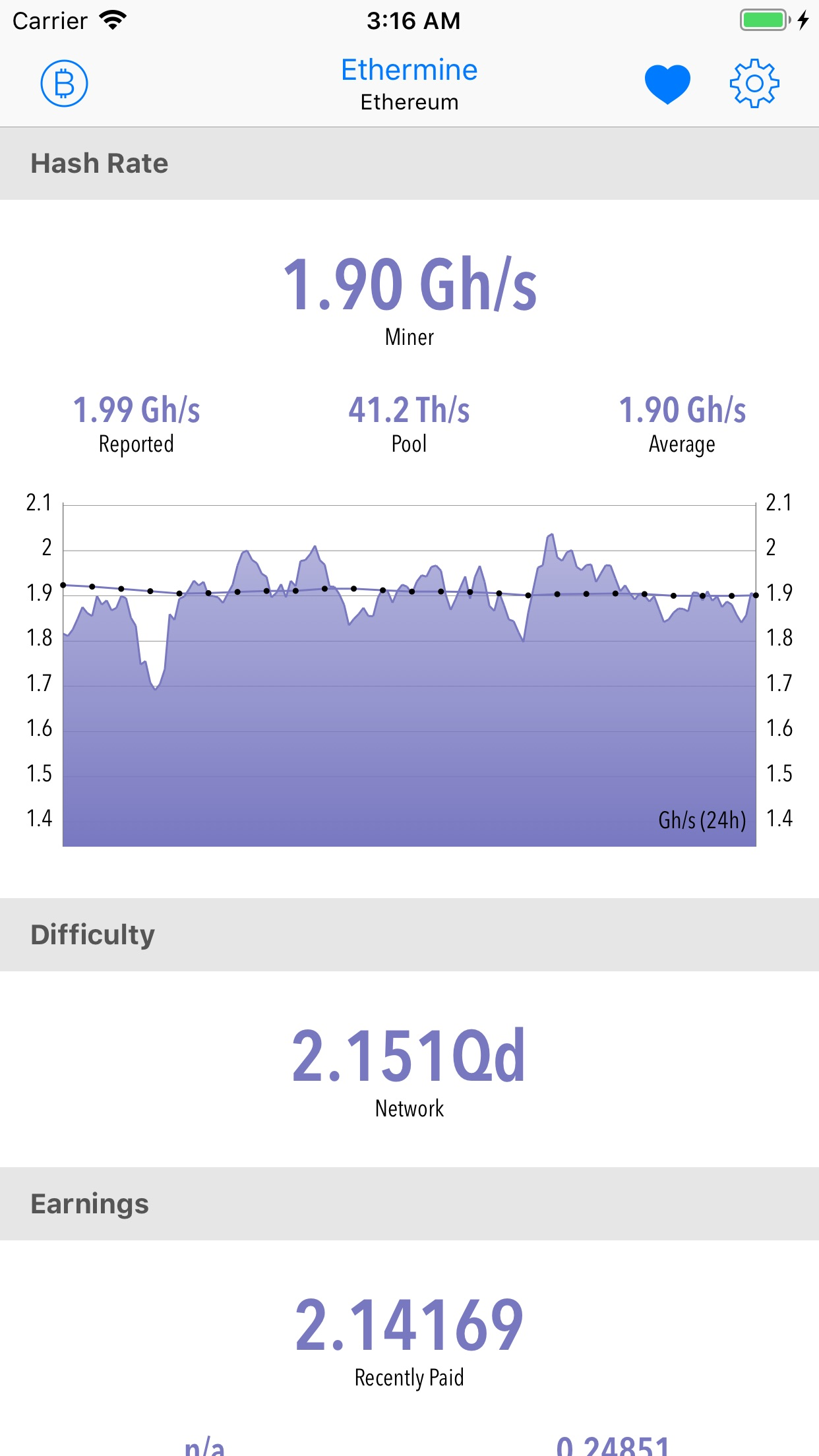 CoinDash Screenshot