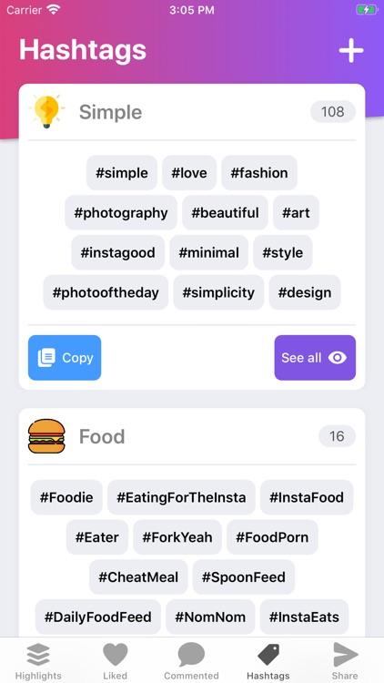 Followers Assistant Insights + screenshot-3