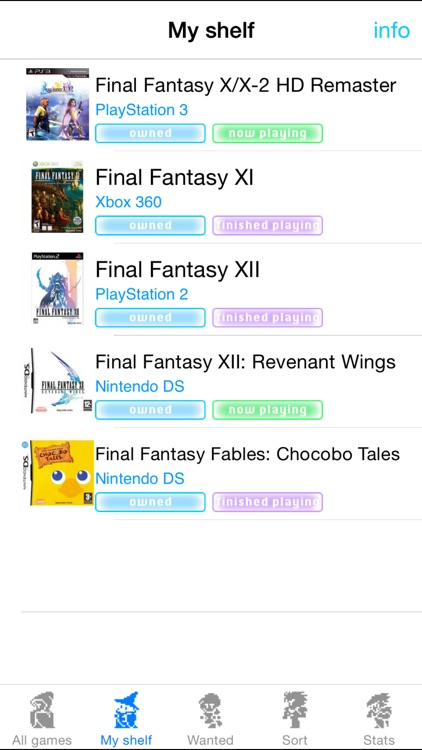 FFcollection for Final Fantasy