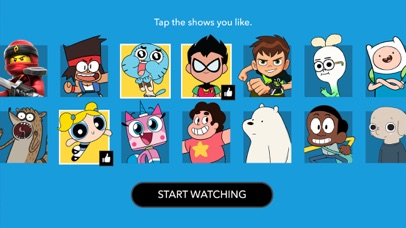 Cartoon Network phone App screenshot 1