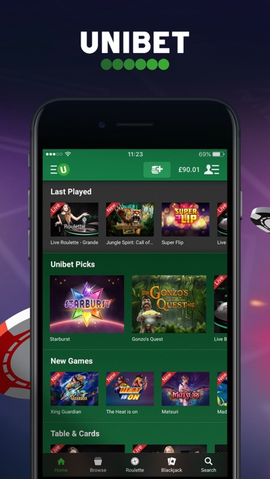 Unibet Casino - Slots & Games screenshot one