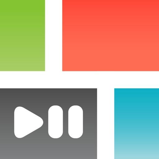 PicPlayPost Movie Video Editor app logo