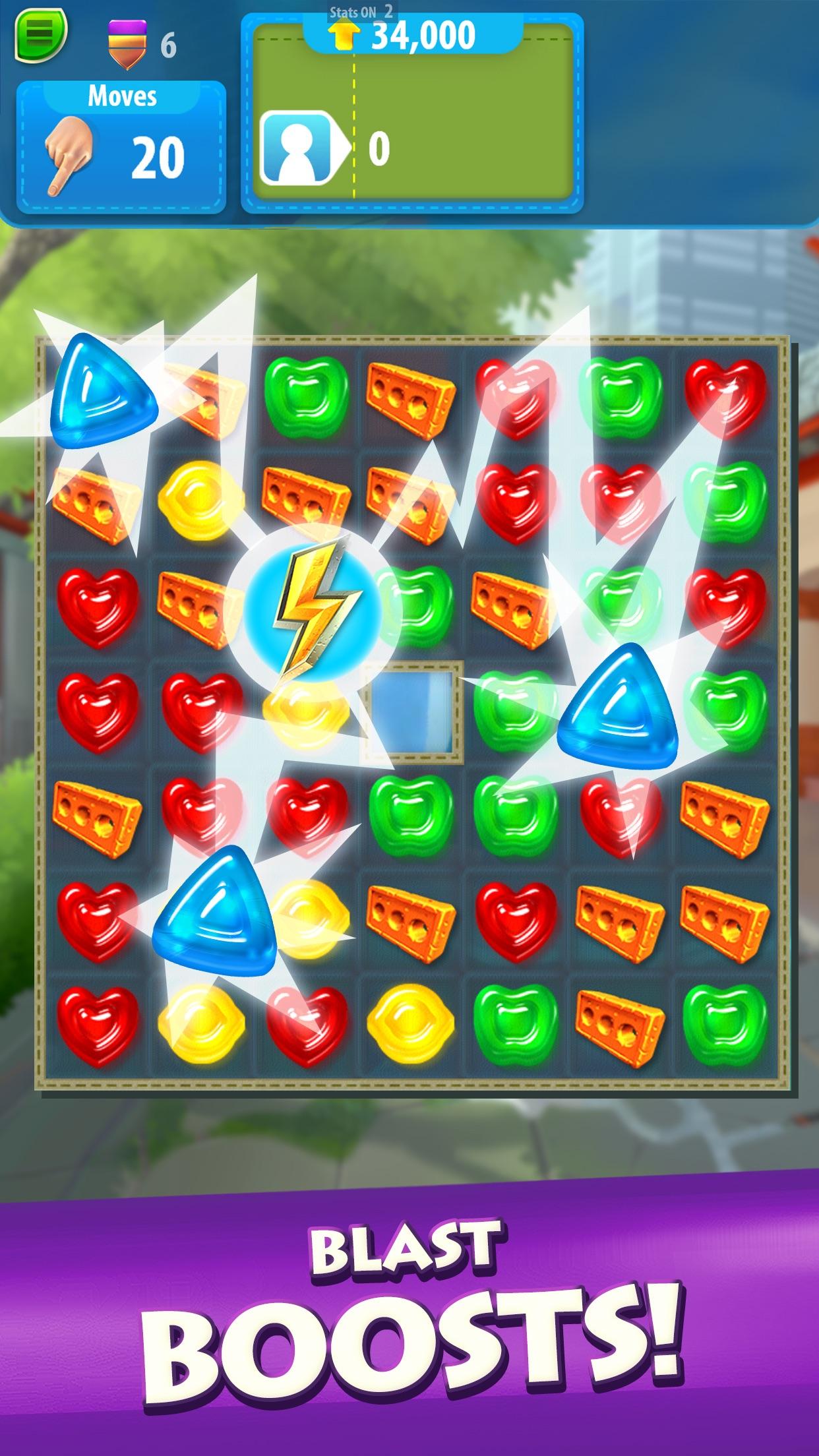 Gummy Drop! – Match & Restore Screenshot