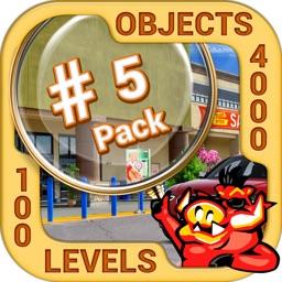 Pack 5 - 10 in 1 Hidden Object
